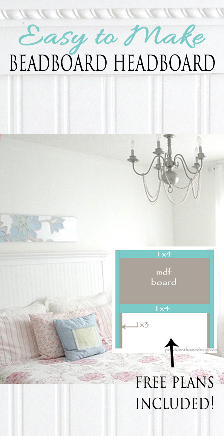 Beautiful Diy Beadboard Headboard for Diy Beadboard