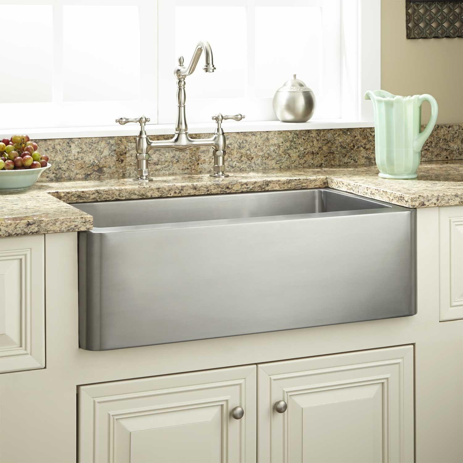 Beautiful Drop Gorgeous Farmhouse Style Sink Faucet Utility Sinks For Apron with Farmhouse Sink In Bathroom