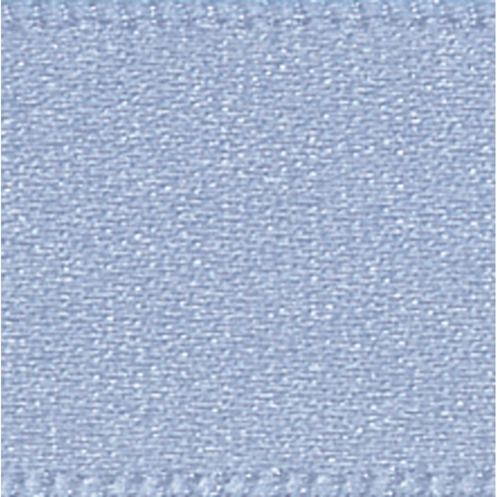 Beautiful Dusky Blue Double Faced Cake Decorating Satin Ribbonthe Metre with Elegant Dusky Blue