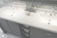 Beautiful Elegant Marble Counter With Black 72 Inch Vanity With Double Sink with regard to Bathroom Vanity 72 Double Sink