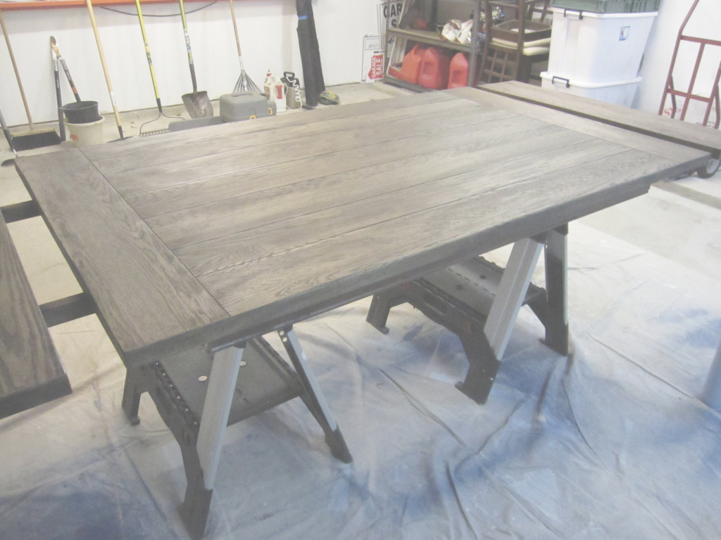 Beautiful Extraordinary Refinish Dining Room Table Fancy Refinishing 74 In throughout High Quality How To Refinish A Dining Room Table
