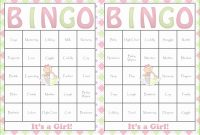 Beautiful Free Baby Shower Bingo Lovely All New Baby Shower Bingo Game – Baby with regard to Free Baby Shower Bingo