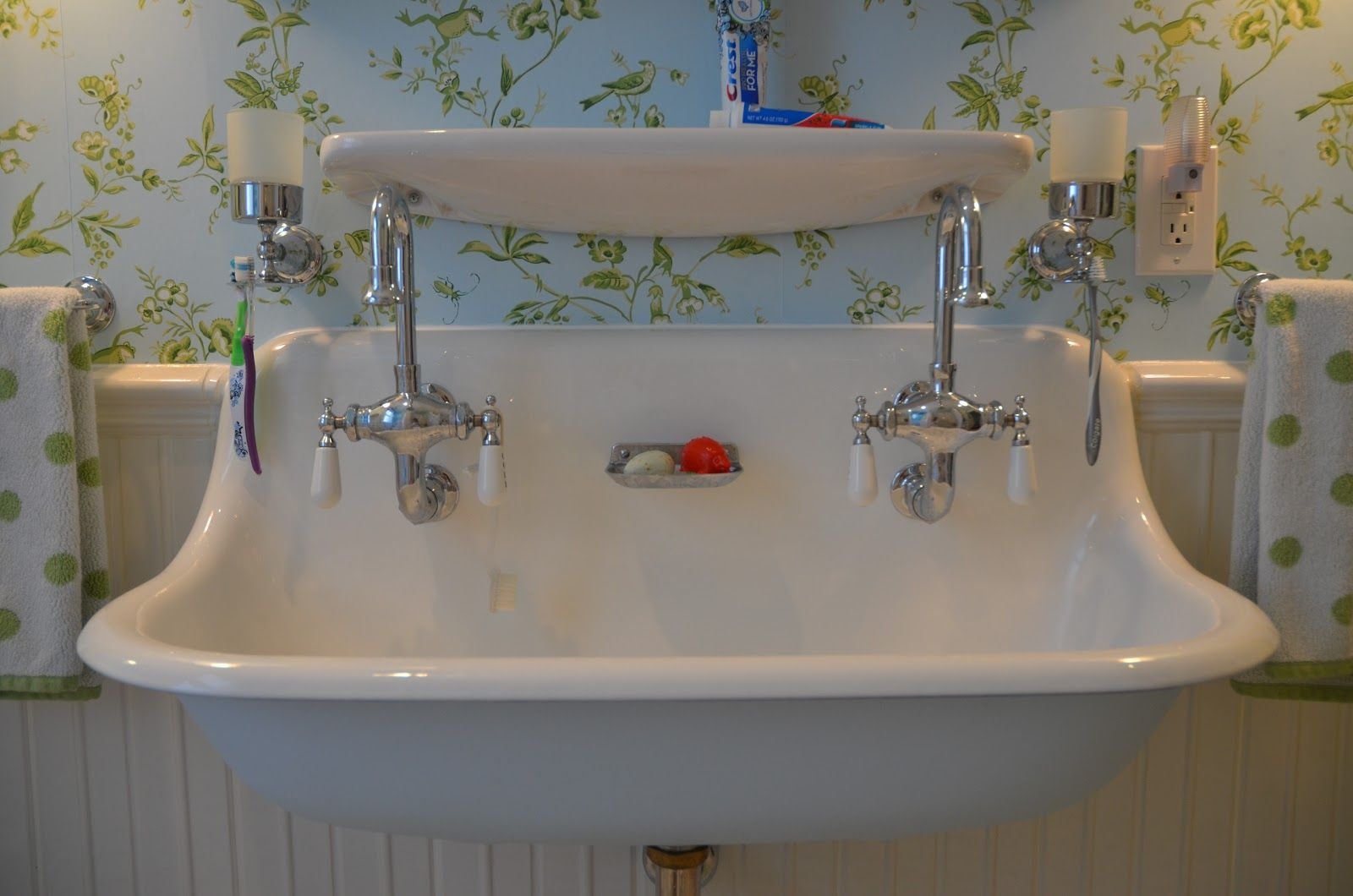 Beautiful Great Sink For Either Master Bath Or Pool Bath. | Bathrooms pertaining to Antique Bathroom Sinks