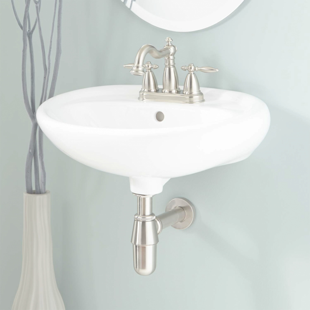 Beautiful Gretchen Porcelain Wall-Mount Bathroom Sink - Bathroom throughout Unique Wall Mount Bathroom Sink