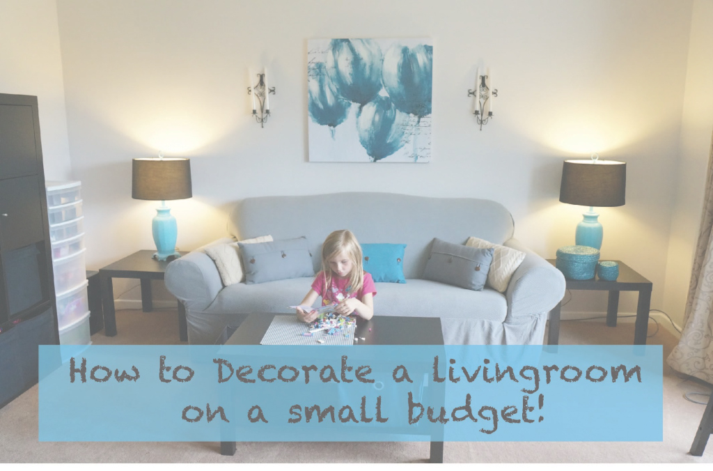 Beautiful How To Decorate A Living Room On A Really Small Budget! - Youtube in New Design My Living Room