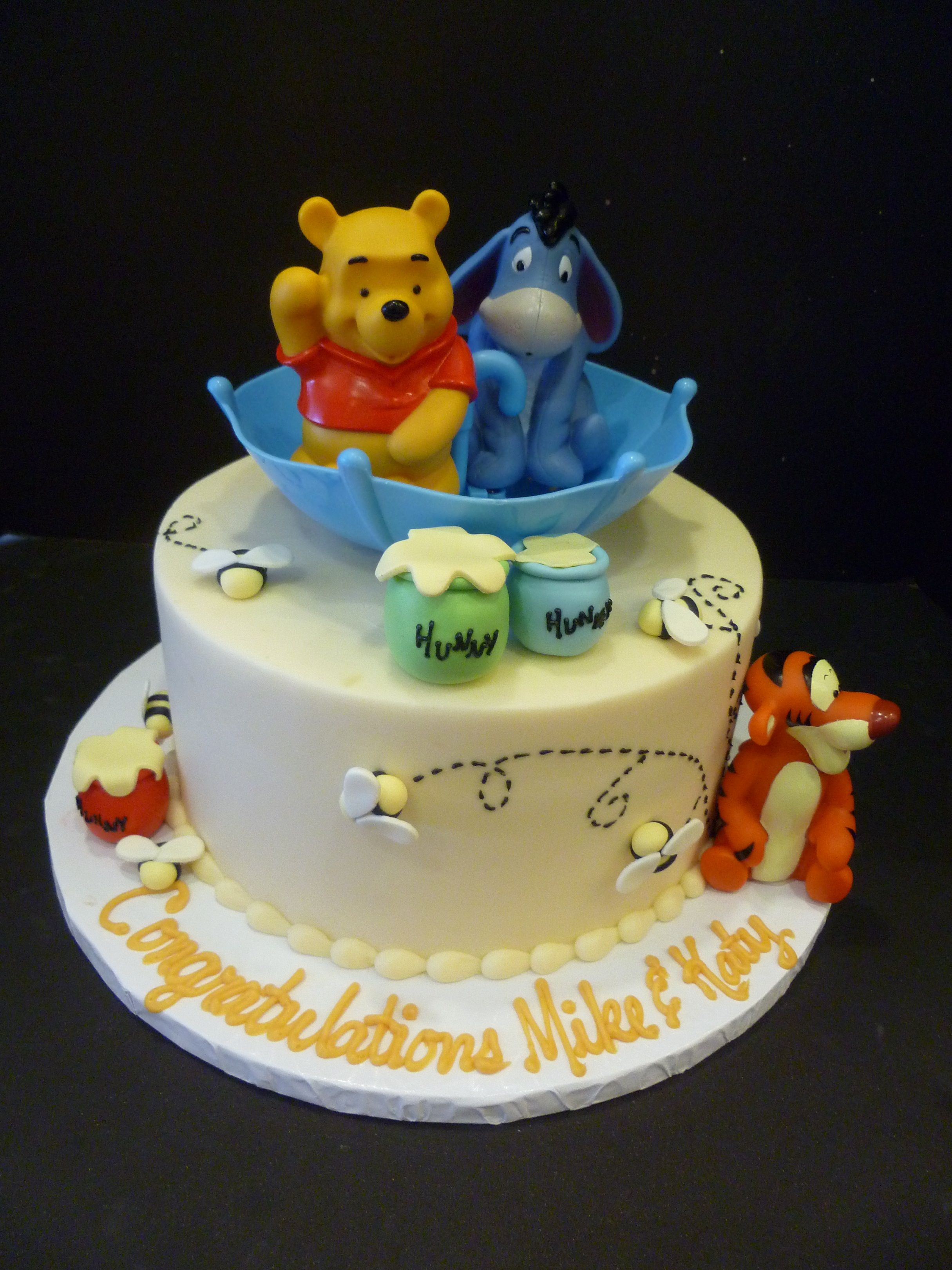 Beautiful Image Detail For -Winnie+The+Pooh+Baby+Shower+Cake - Winnie The Pooh pertaining to Winnie The Pooh Baby Shower Cakes