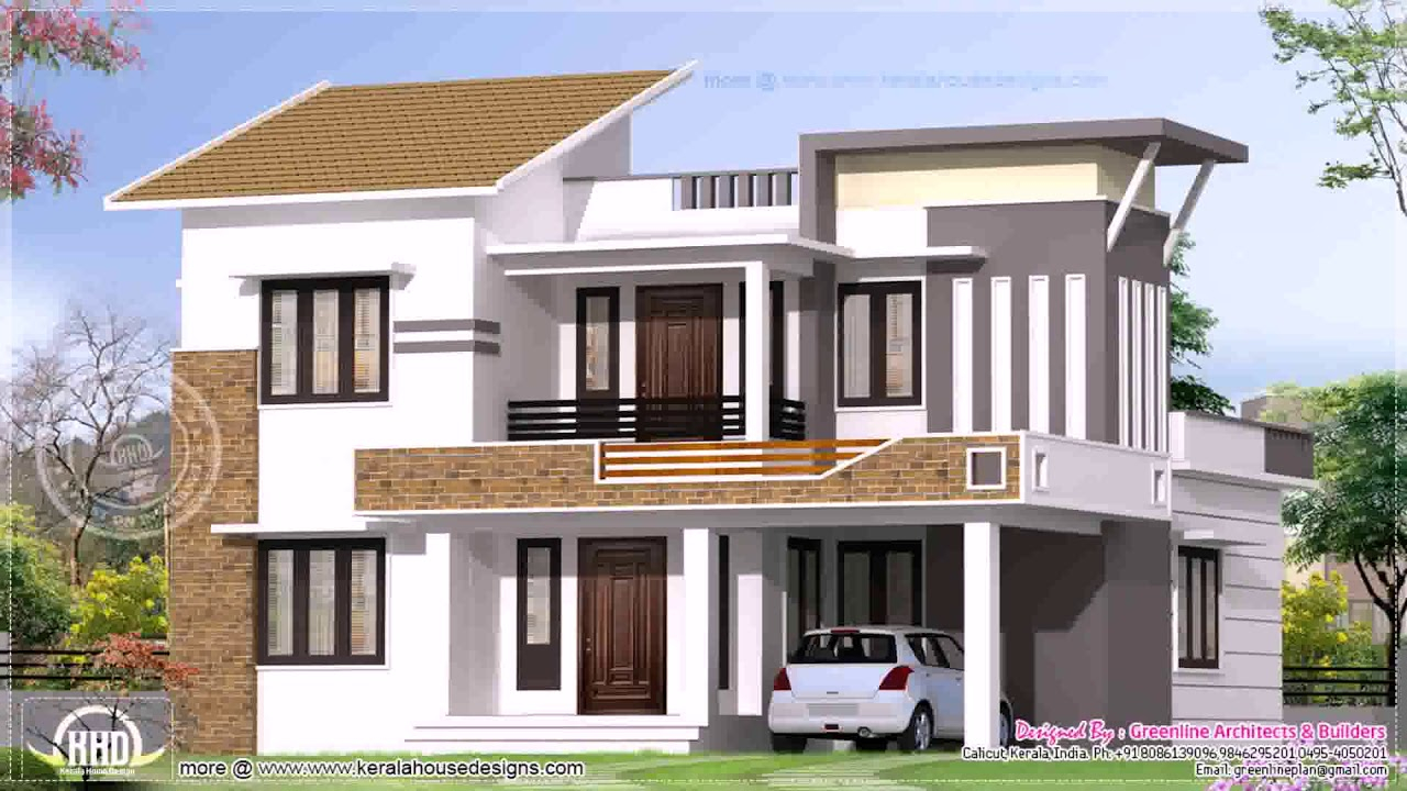 Beautiful Indian Home Exterior Design Photos Middle Class - Youtube with Awesome Indian Home Exterior Design