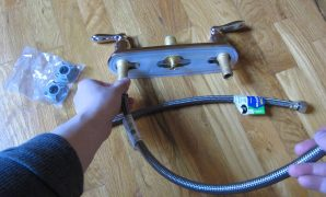 "Beautiful Installing Kitchen Faucet 1/2"" To 3/8"" Supply Lines Hoses - Youtube with Best of Bathroom Faucet Supply Lines"