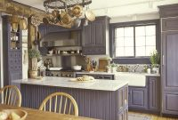 Beautiful Interior: Colonial White Granite With Wood Painted Cabinets And Wood in Beautiful Colonial Kitchen Design