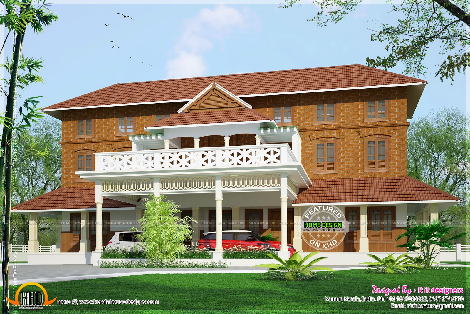 Beautiful Kerala Traditional House Plans Below 2000 Sq Ft - House Plans throughout Kerala Traditional House Plans With Photos