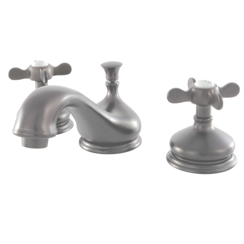 Beautiful Kingston Brass Ks1165Bex 8-Inch Widespread Lavatory Faucet, Oil for 8 Inch Widespread Bathroom Faucet
