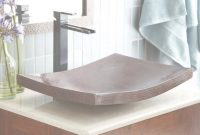 Beautiful Kohani Curved Copper Vessel Bathroom Sink | Native Trails intended for Bathroom Vessel Sinks