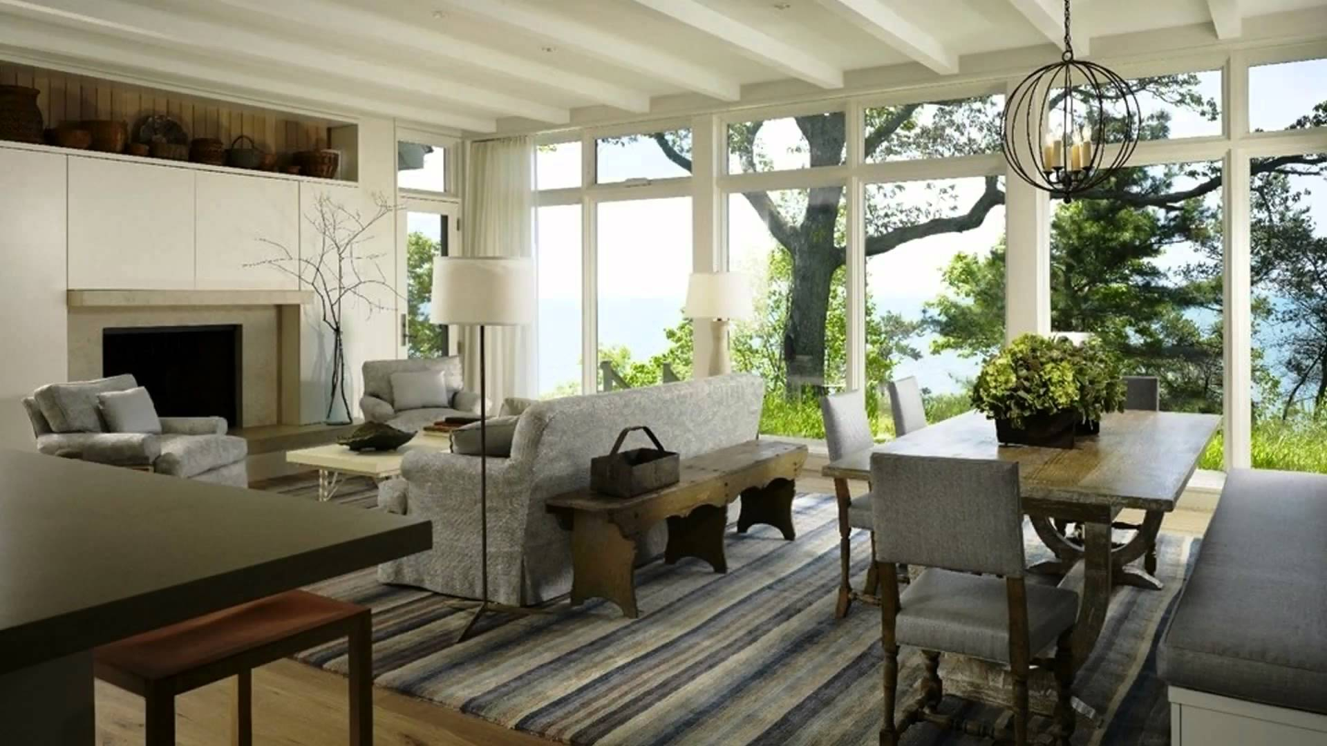 Beautiful Living And Dining Room Combinations | Fabulous Designer Ideas - Youtube regarding Living Room And Dining Room Together
