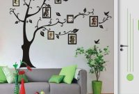 Beautiful Living Room Family Tree Wall Decal Art : Family Tree Wall Decal For with Unique Tree Wall Decals For Living Room