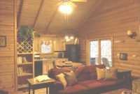 Beautiful Living Room & Kitchen Upon Entrance To Cabin | Cabins Of Birch Hollow intended for Cabin Living Room