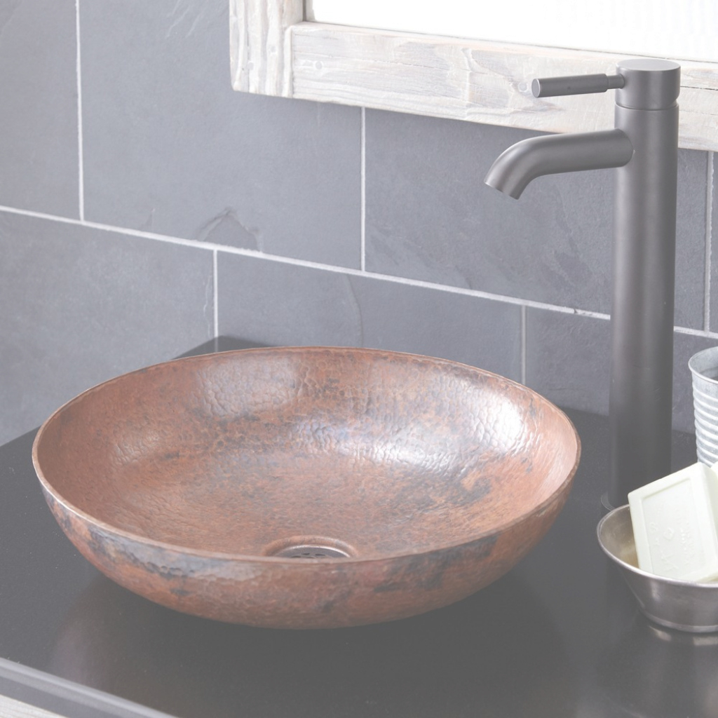Beautiful Maestro Sonata Petit Copper Bathroom Vessel Sink | Native Trails for New Bathroom Vessel Sinks