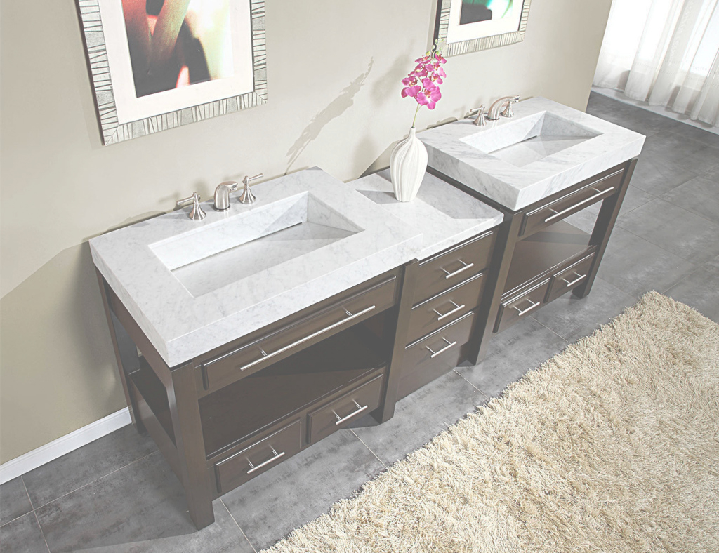 Beautiful Marble Bathroom Vanity Double : Gretabean - Best Marble Bathroom Vanity with regard to Marble Bathroom Vanity