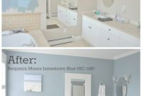 Beautiful Master Bathroom Paint Color Reveal | Pinterest | Master Bathrooms for Yarmouth Blue Bathroom
