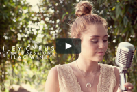 "Beautiful Miley Cyrus – ""Lilac Wine"" On Vimeo throughout Best of The Backyard Sessions"