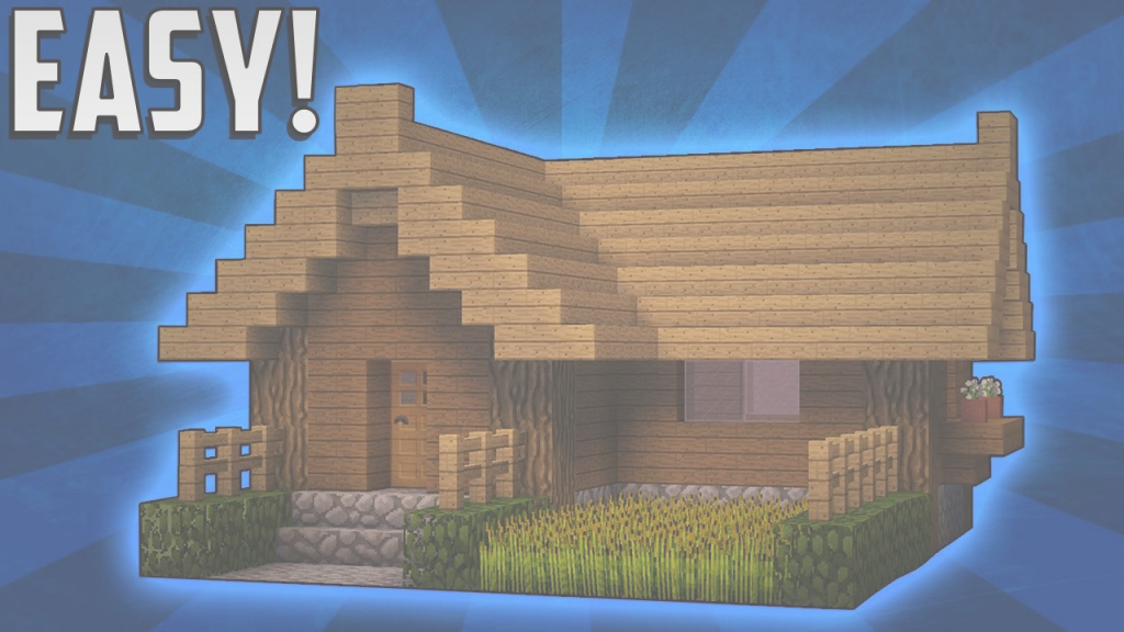 Beautiful Minecraft: How To Build A Small Survival Starter House Tutorial (#2 regarding New Minecraft Small Cool Houses