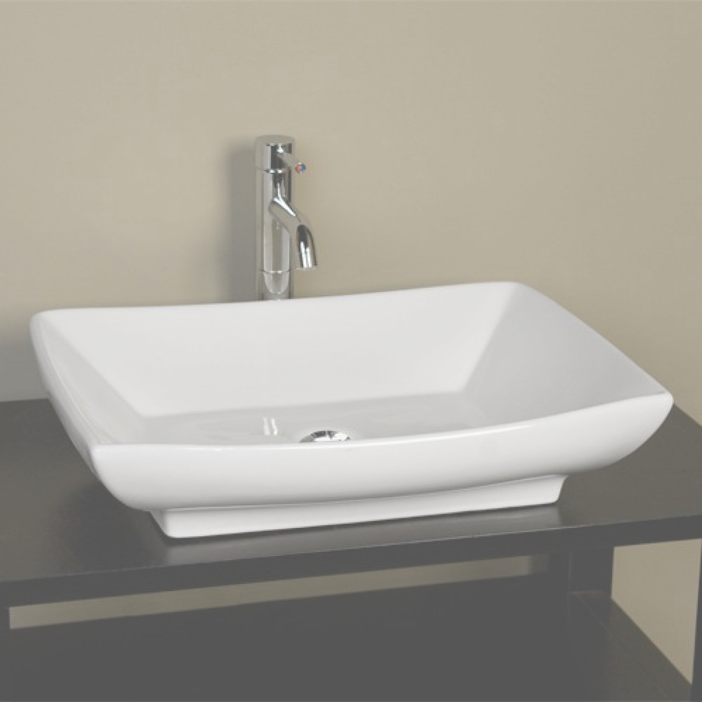 Beautiful Mollie Rectangular Porcelain Vessel Sink - Bathroom throughout New Bathroom Vessel Sinks