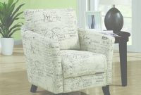 Beautiful Monarch Specialties White Fabric Arm Chair-I 8007 – The Home Depot with regard to Accent Chairs Living Room