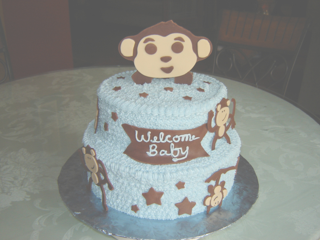 Beautiful Monkey Cakes – Decoration Ideas | Little Birthday Cakes with regard to Lovely Baby Shower Monkey Cakes