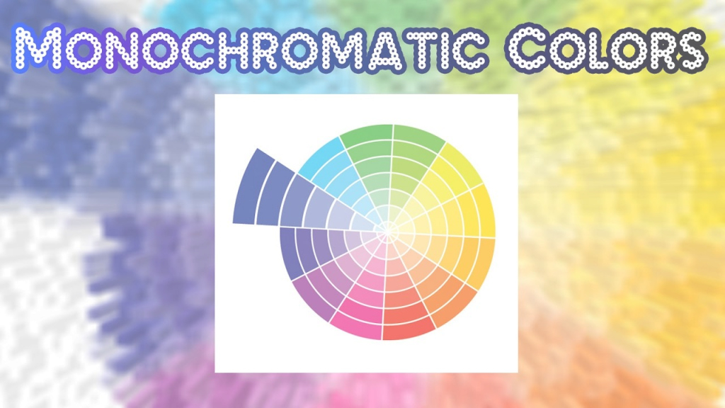 Beautiful Monochromatic Colors - Youtube throughout Monochromatic Colors
