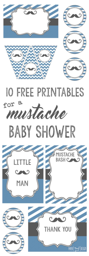 Beautiful Mustache Party: 10 Free Printables | Pinterest | Mustache Party, Art with regard to Awesome Little Man Baby Shower Free Printables