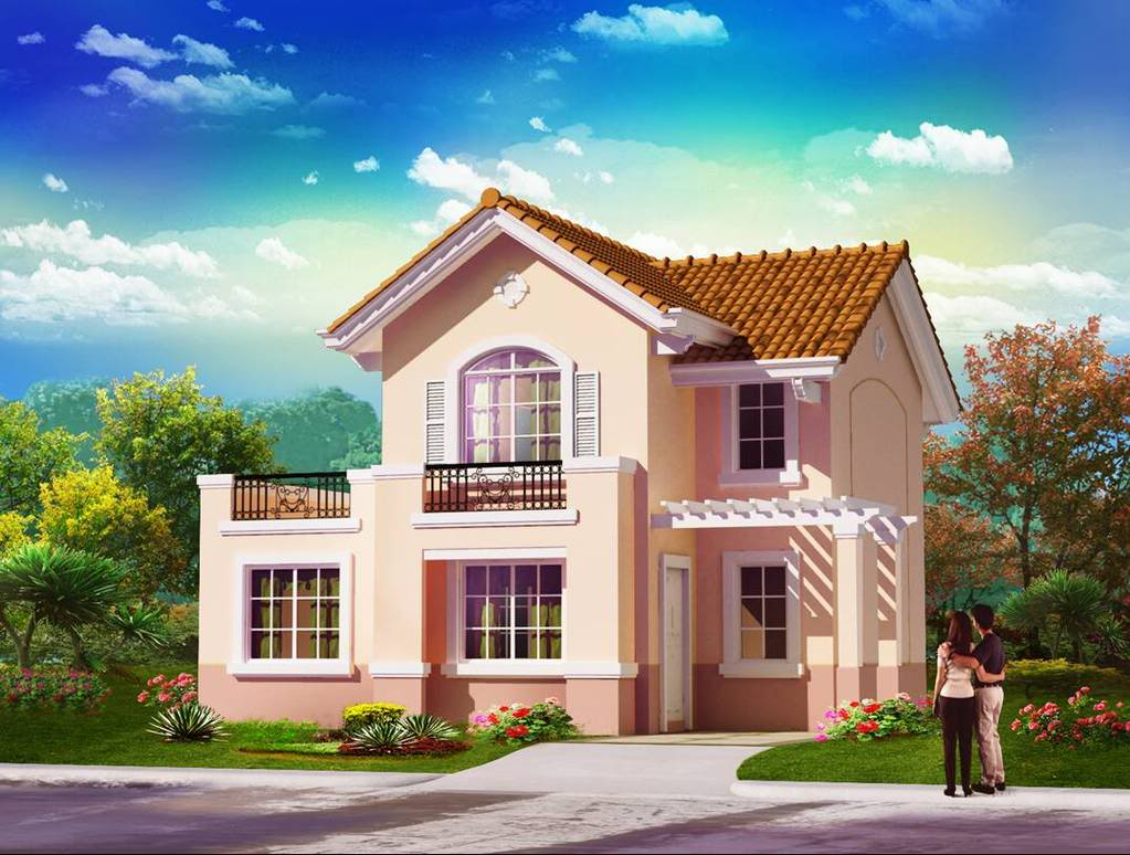 Beautiful Philippine House Design With Floor Plan | House Rent And Home Design intended for Unique House Design With Floor Plan Philippines
