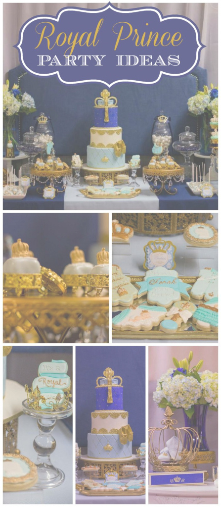 "Beautiful Prince / Baby Shower ""prince Jonah!"" 