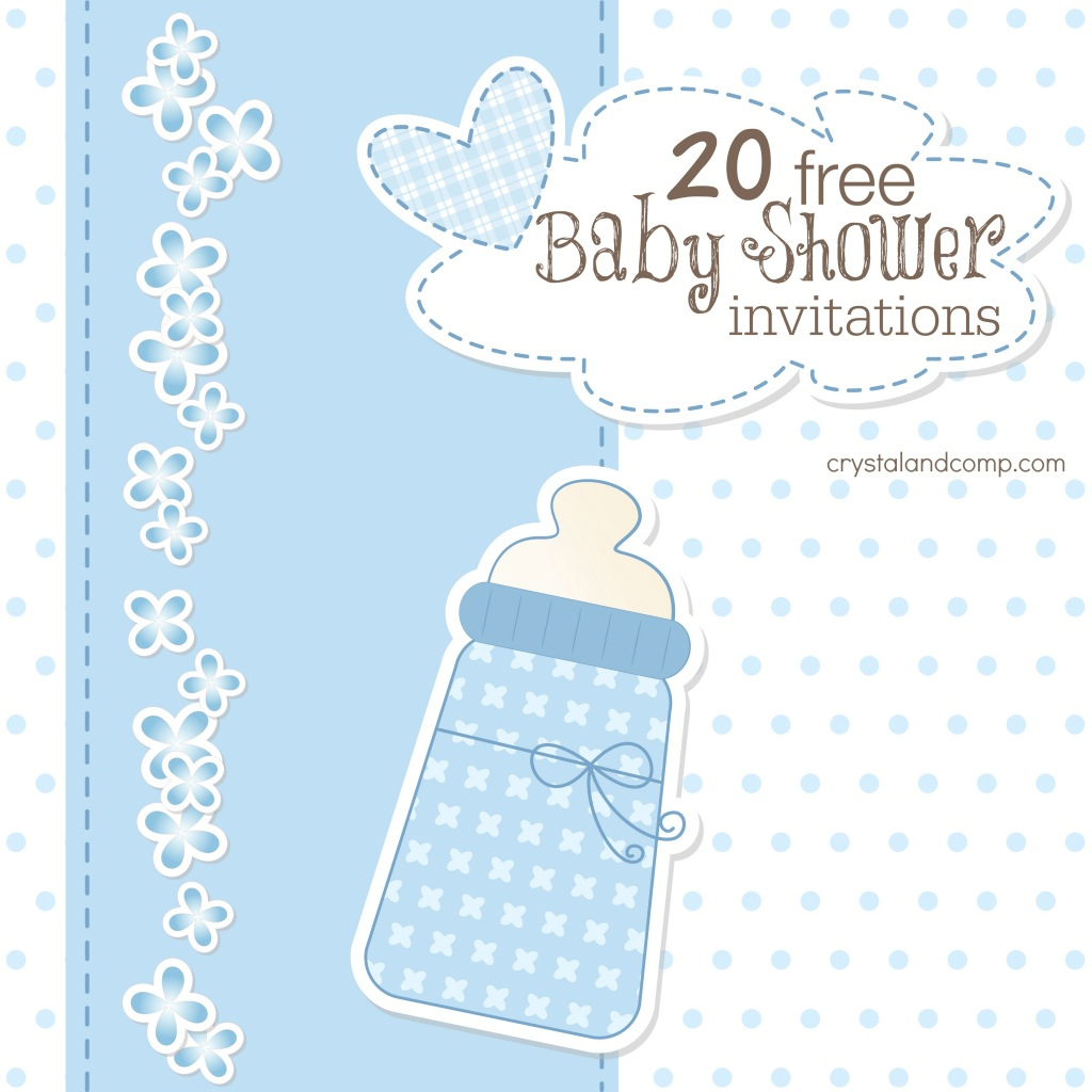 Beautiful Printable Baby Shower Invitations within Awesome Baby Shower Templates Free