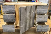 Beautiful Reclaimed Barnwood Bathroom Vanity Sustain Furniture Co inside Barnwood Bathroom Vanity