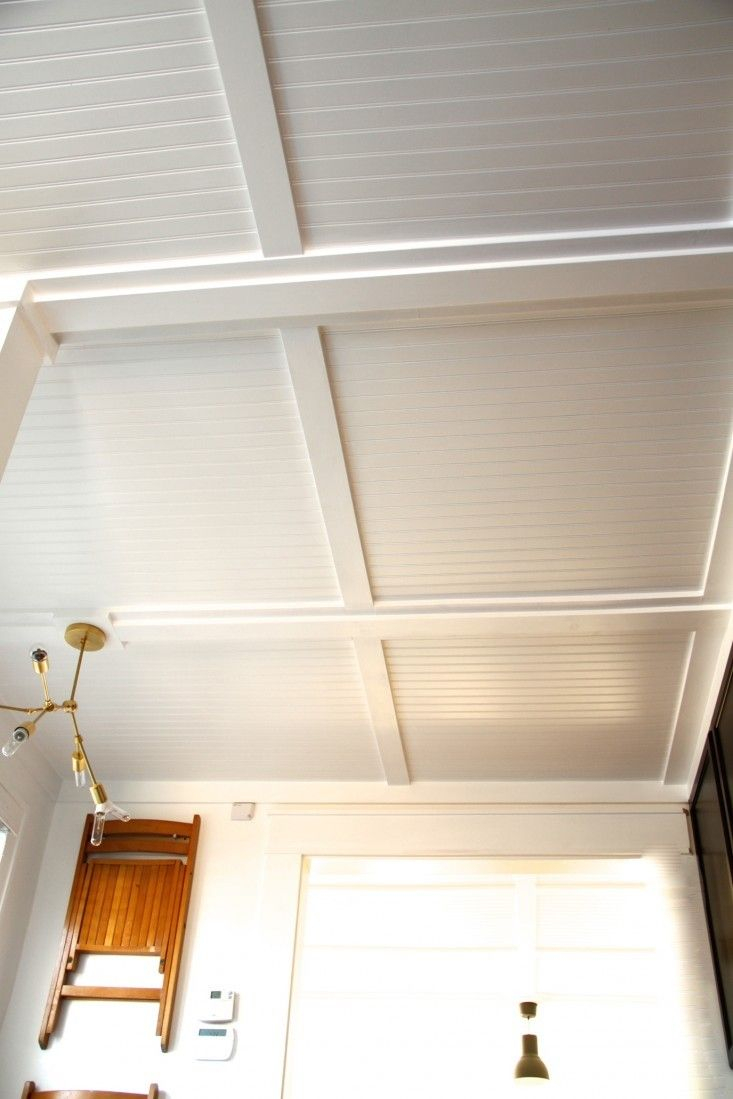 Beautiful Rehab Diaries: Diy Beadboard Ceilings, Before And After | Pinterest in Fresh Diy Beadboard