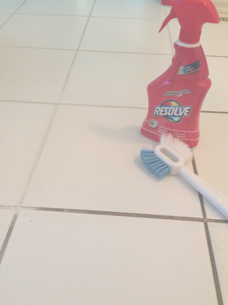 Beautiful Resolve Carpet Cleaner To Clean Grout | Pinterest | Hydrogen within High Quality How To Clean Kitchen Tile Grout