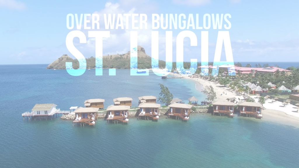 Beautiful Sandals St. Lucia Overwater Bungalow Tour (New May 2017) - Youtube throughout Jamaica Overwater Bungalows