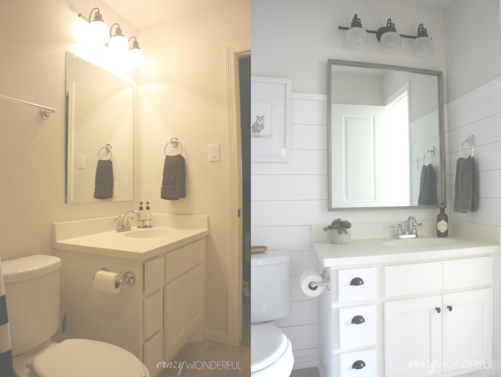Beautiful Shiplap Boy's Bathroom Reveal - Crazy Wonderful in Bathrooms With Shiplap