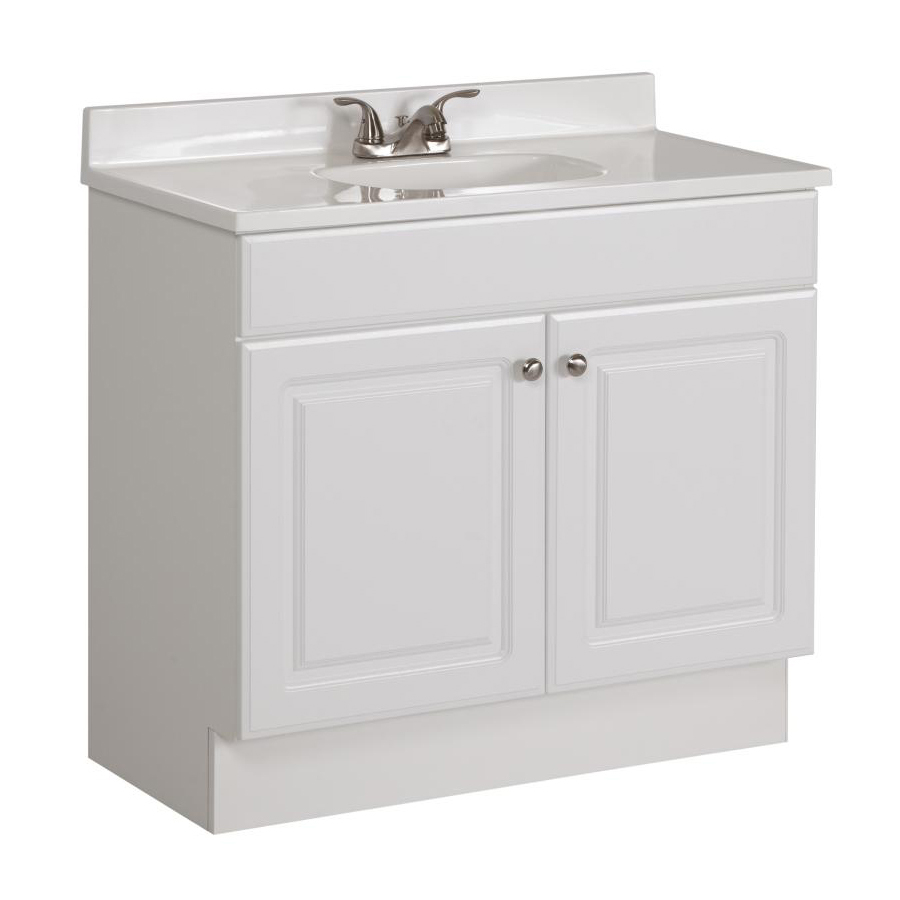 Beautiful Shop Bathroom Vanities With Tops At Lowes inside 36 In Bathroom Vanity With Top