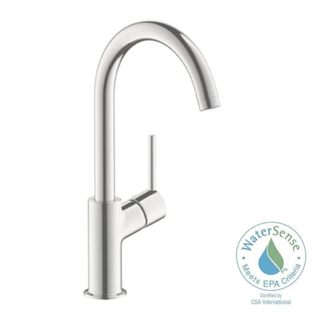 Beautiful Sink & Faucet: Hansgrohe Talis S Single Hole 1 Handle High Arc throughout Hansgrohe Bathroom Faucet