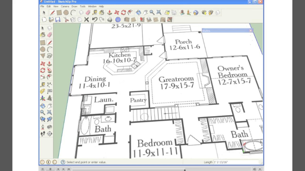 Beautiful Sketchup House Plans Draw Floor Plan In From Pdf Tutorial Designoad in Google Sketchup House Plans Download Image