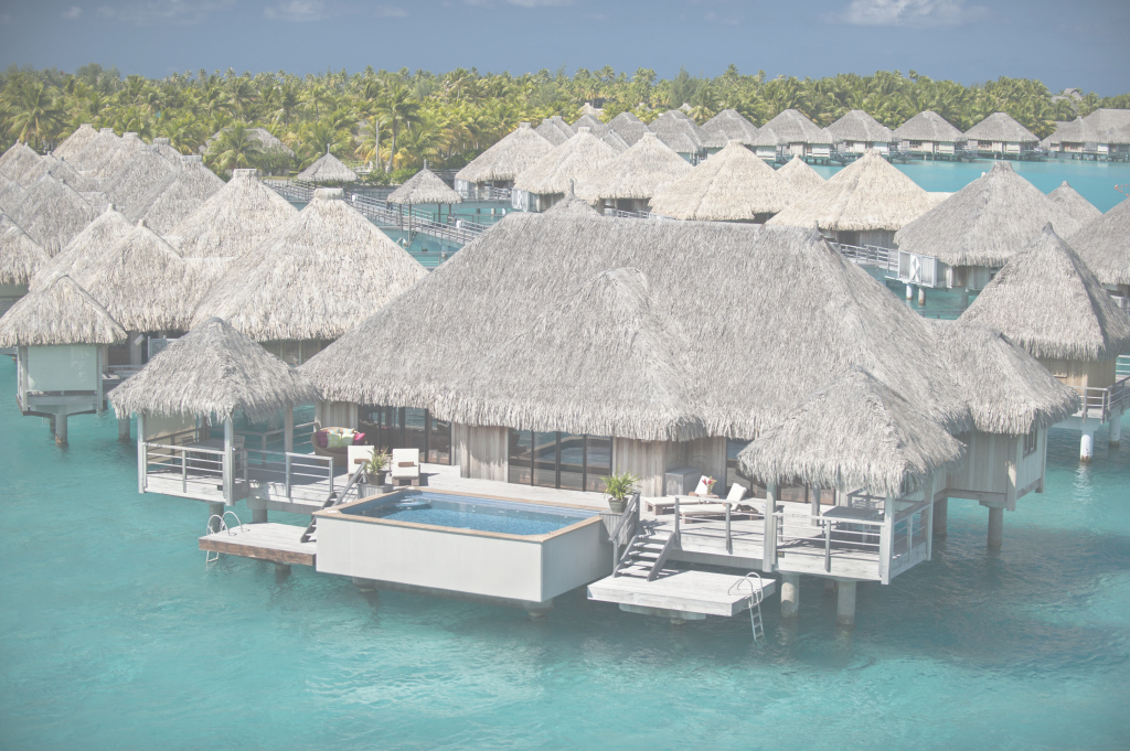 Beautiful Somewhere Over The Water: 5 Overwater Bungalows In The Islands Of Tahiti inside Luxury Over The Water Bungalows In Caribbean