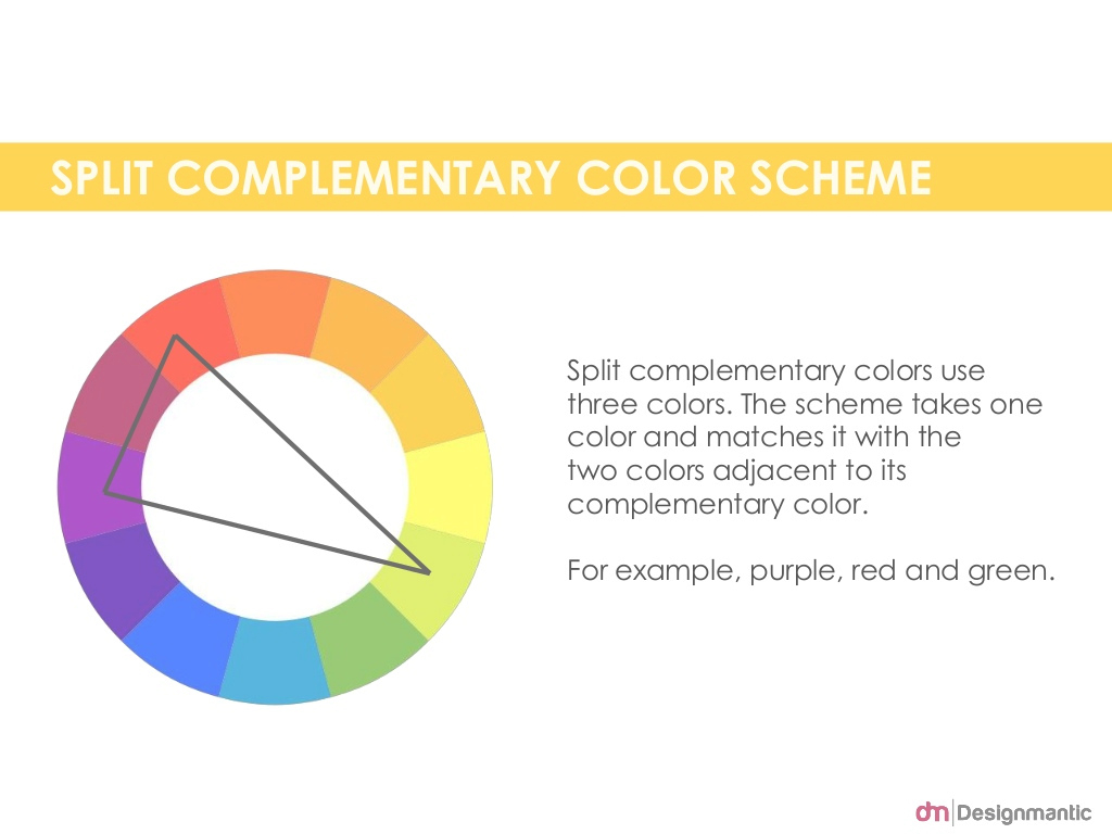 Beautiful Split Complementary Color Scheme Split regarding Lovely Double Split Complementary Colors