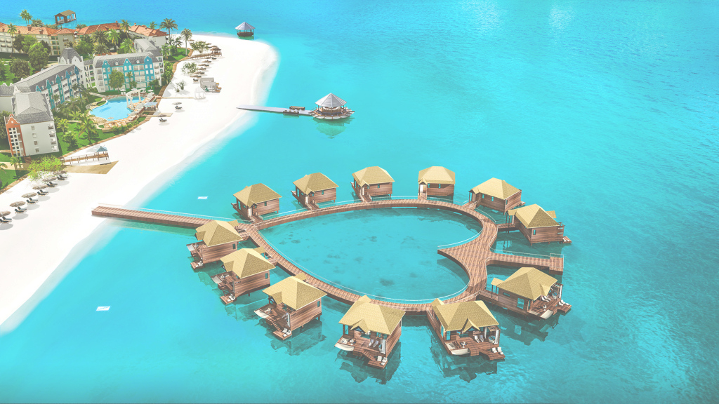 Beautiful Stay In An Incredible Over-Water Bungalow With Glass Floors In Jamaica with Overwater Bungalows Jamaica
