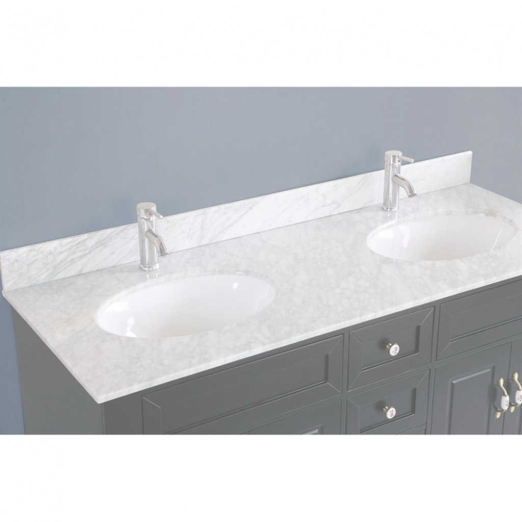 Beautiful Styles: Classic 59 Inch Double Sink Bathroom Vanitybosconi with regard to Luxury 59 Inch Bathroom Vanity