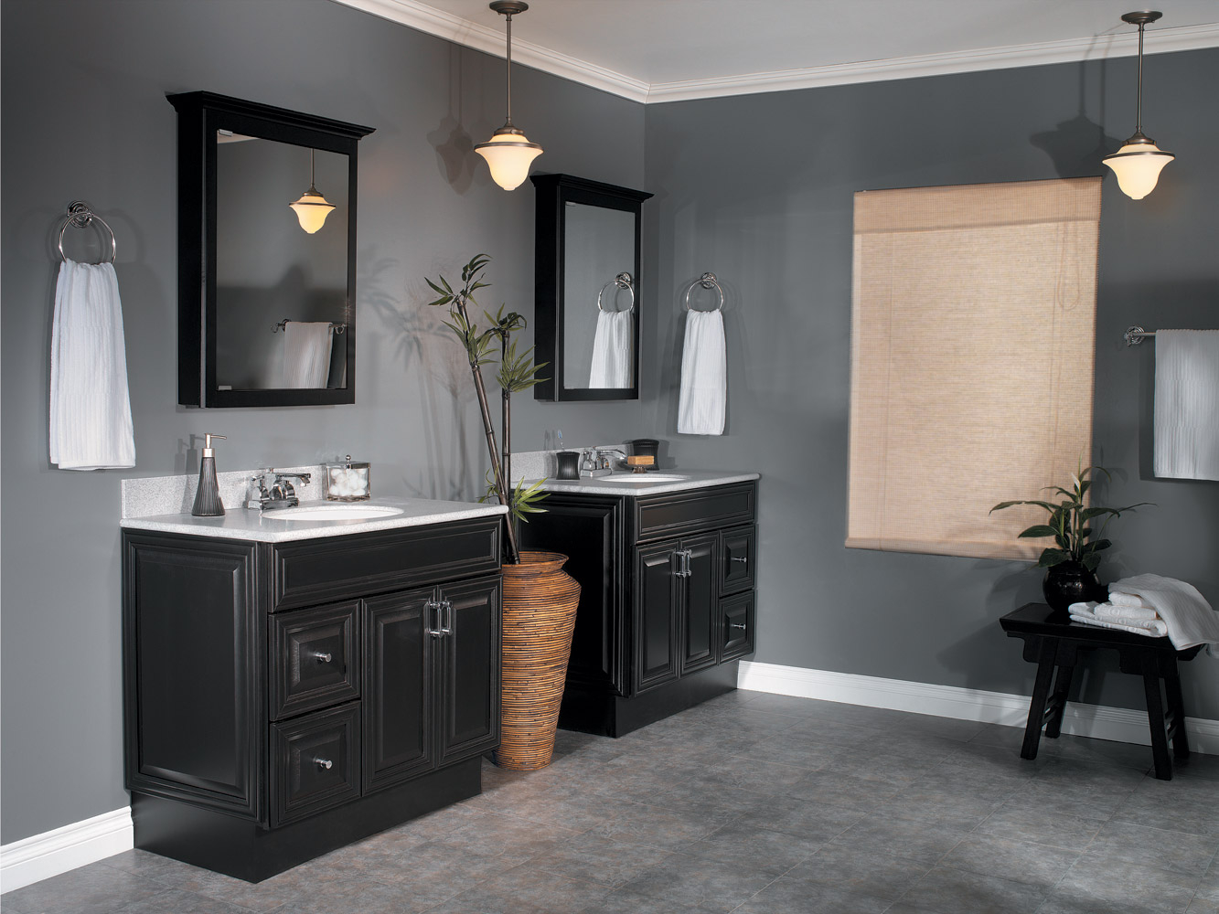 Beautiful The Best Bathroom Vanity Ideas - Midcityeast with Dark Bathroom Vanity