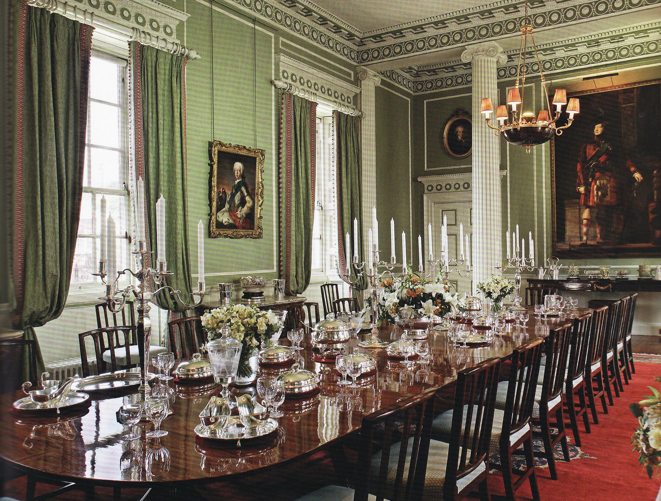 Beautiful The Palace Of Holyroodhouse Inside State Dining Room | Edinburgh within High Quality The Dining Room Edinburgh