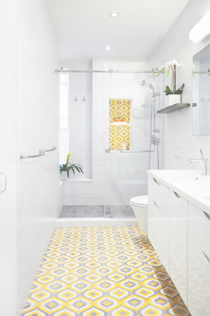 Beautiful Top 20 Bathroom Tile Trends Of 2017 | Hgtv's Decorating & Design inside Flooring Bathroom