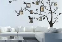 Beautiful Tree Wall Decals Cheap Design Tree Wall Decals For Living Room in Unique Tree Wall Decals For Living Room