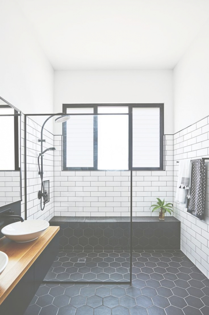 Beautiful Unique White And Black Bathroom Awesome Best Floor Tile Ideas | Home for Black Bathroom Ideas
