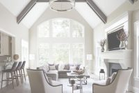 Beautiful Vaulted Ceiling Beams Ideas Living Room Transitional With High within Lovely Vaulted Ceiling Living Room